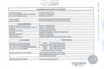 Calendario Scolastico 2020 2020 Piemonte Pdf.Avvisi Novita Comune Di Armeno